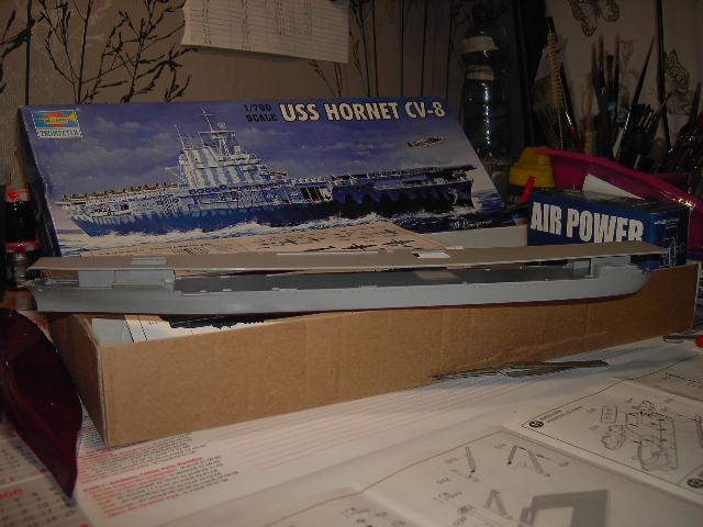 USS Hornet CV-8 tumpeter 1/700 Pict8614