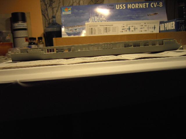 USS Hornet CV-8 tumpeter 1/700 Pict8619