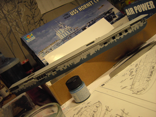 USS Hornet CV-8 tumpeter 1/700 Pict8626