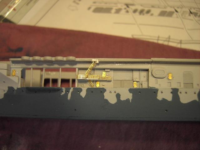 USS Hornet CV-8 tumpeter 1/700 Pict8628