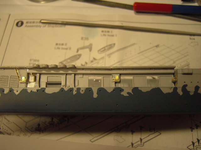 USS Hornet CV-8 tumpeter 1/700 Pict8630