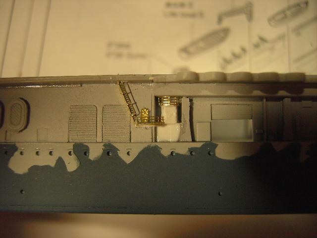 USS Hornet CV-8 tumpeter 1/700 Pict8631