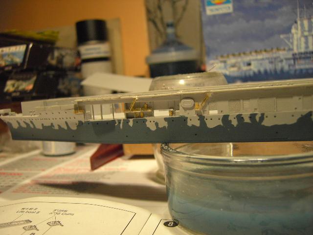 USS Hornet CV-8 tumpeter 1/700 Pict8633