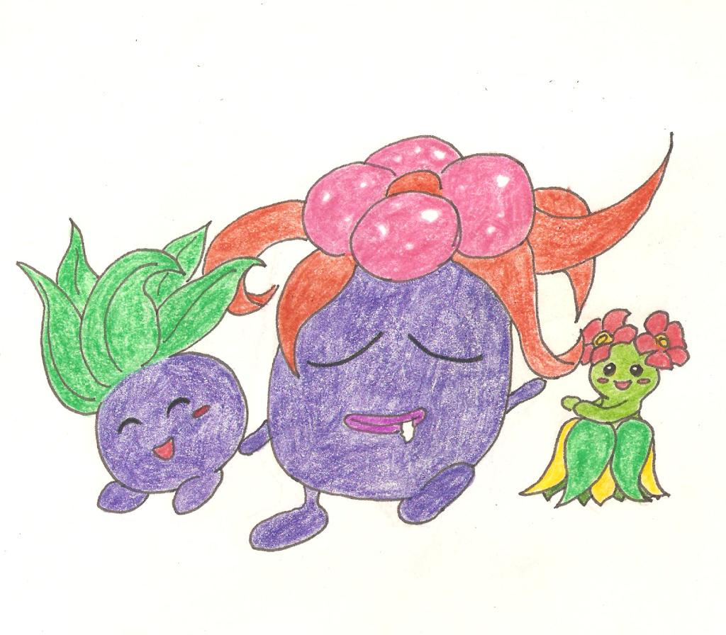 Quelques dessins Oddish10