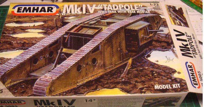 Mk IV tadpole 1/72 WW1 Emhar 1-tadp10
