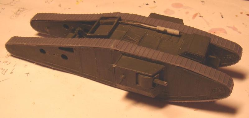 Mk IV tadpole 1/72 WW1 Emhar 13_tad10