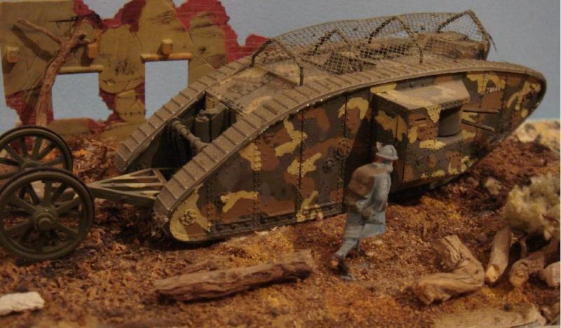 Mk IV tadpole 1/72 WW1 Emhar 20_le_10