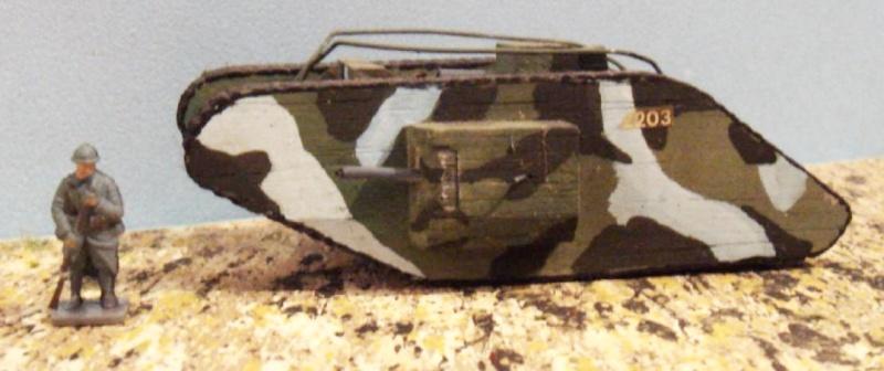 Mk IV tadpole 1/72 WW1 Emhar 22_en_10