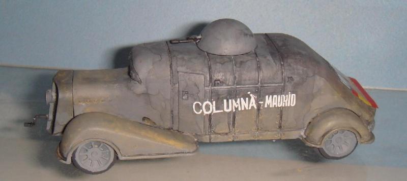 Blindés Espagnols guerre civile [Minairons Miniatures, 1/72] Hispan12
