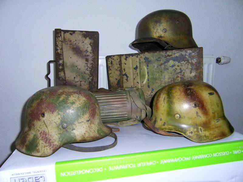 Les casques et effets allemands camouflés 100_0310