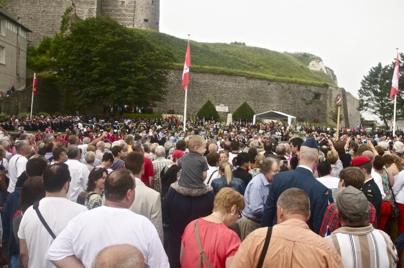 70ème anniversaire de l'opération jubilee- Dieppe 19 aout 2012 _dsc0011