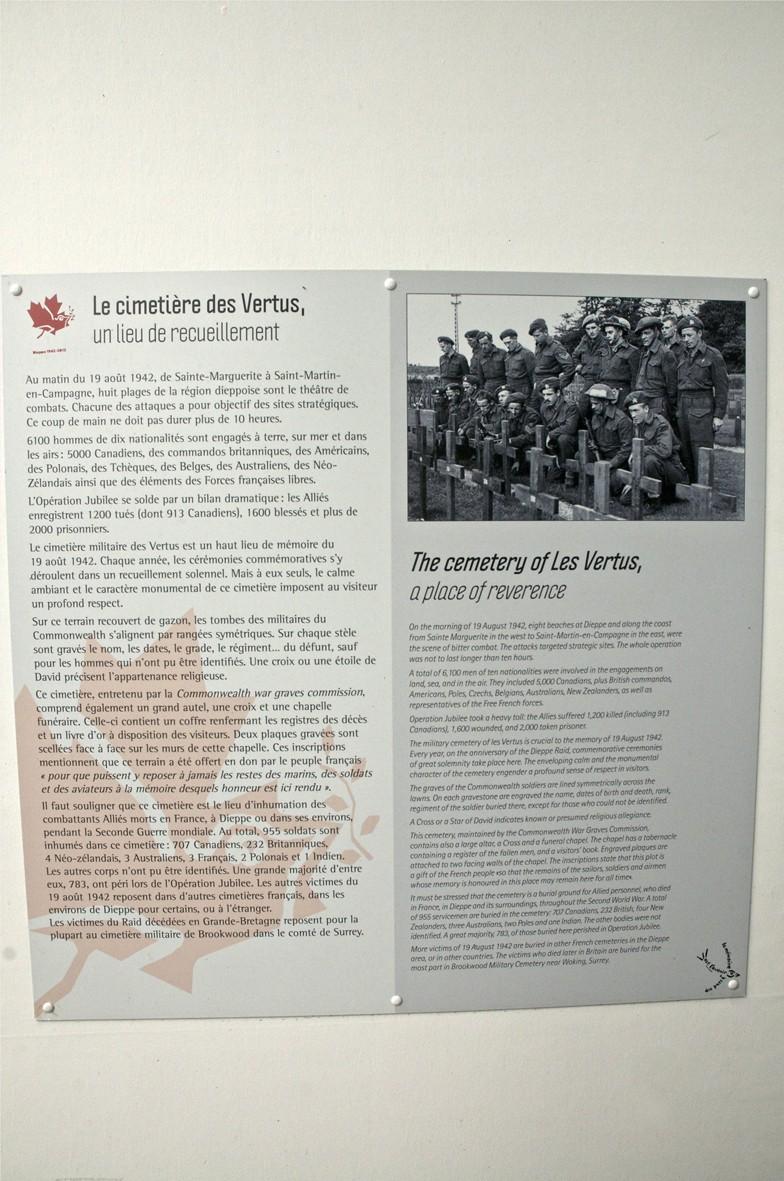 70ème anniversaire de l'opération jubilee- Dieppe 19 aout 2012 _dsc0023