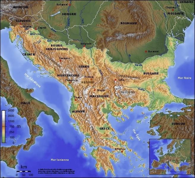 LC par pays: Les Balkans A185