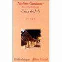 gordimer - Nadine Gordimer [Afrique du Sud] Couver10