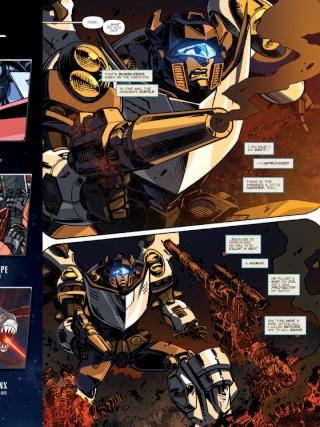 Comics/BD Transformers en anglais: Marvel Comics, Dreamwave Productions et IDW Publishing - Page 26 Img_3411