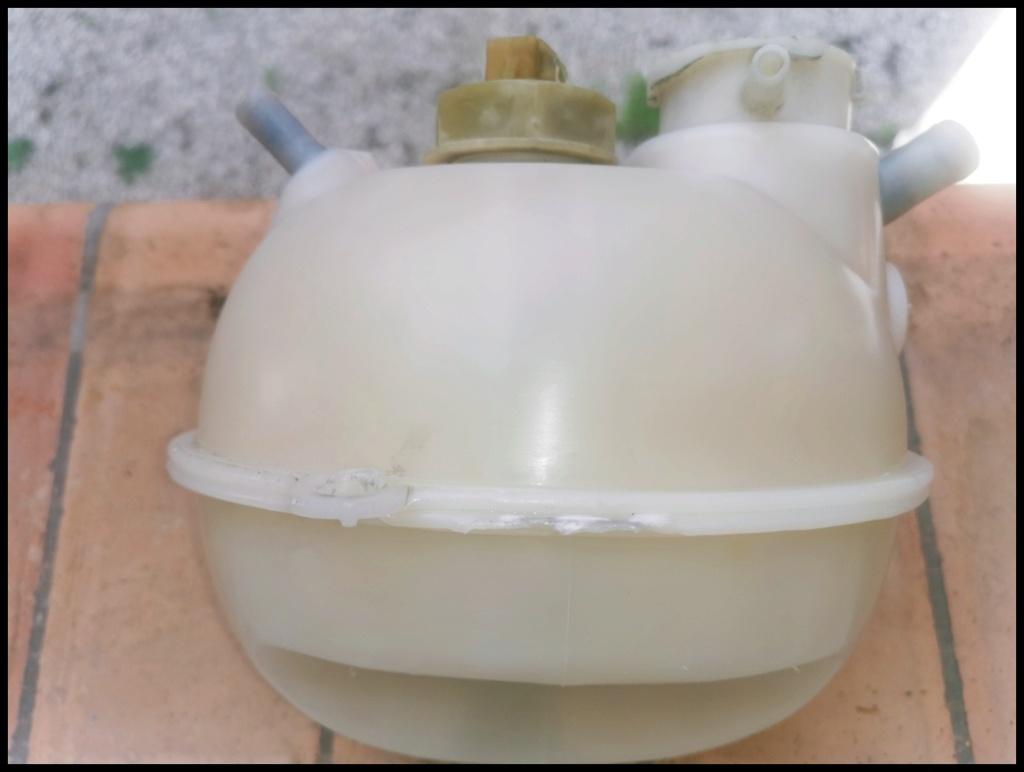 REFECTION DES PLASTIQUES BLANCS comme vase expansion Img_2042
