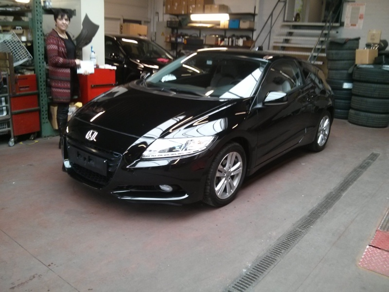 Extran and his Black CR-Z  2014-011