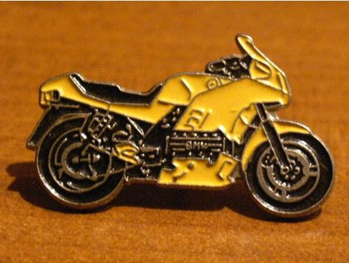 Yellow K100rs pin K100rs10