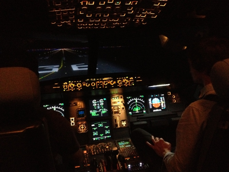 Full Flight Simulators Installation Timelapse 101110