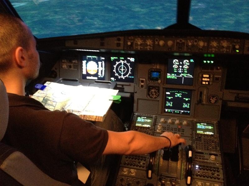 Full Flight Simulators Installation Timelapse 114110