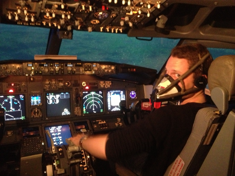 Full Flight Simulators Installation Timelapse 22710