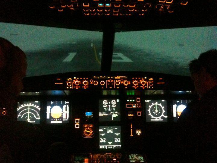 Full Flight Simulators Installation Timelapse 39183210