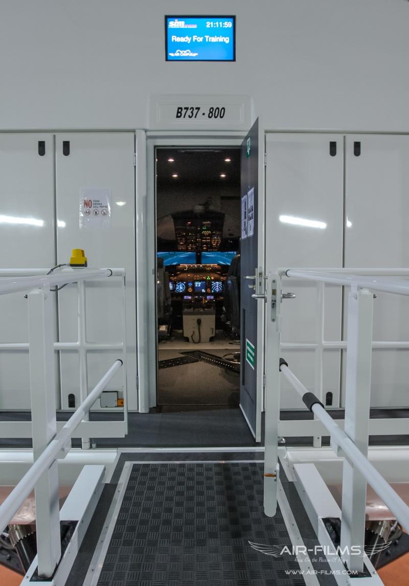 Full Flight Simulators Installation Timelapse Img_0012