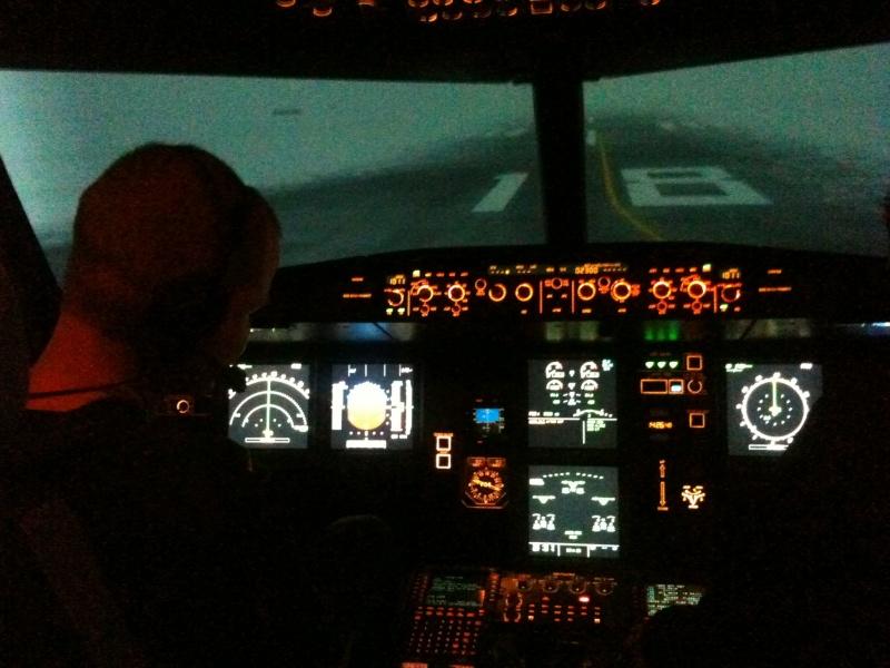Full Flight Simulators Installation Timelapse Img_2910