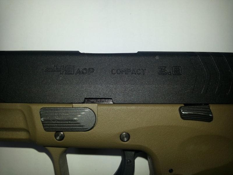 [WE] XDM-45ACP Compact 3.8 20140620