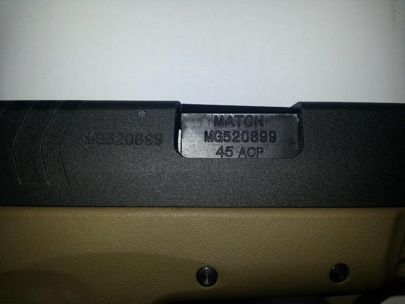 [WE] XDM-45ACP Compact 3.8 20140622