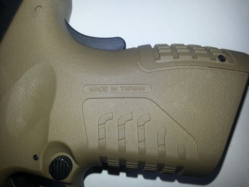 [WE] XDM-45ACP Compact 3.8 20140623