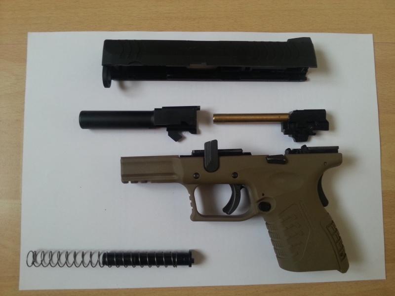 [WE] XDM-45ACP Compact 3.8 20140625