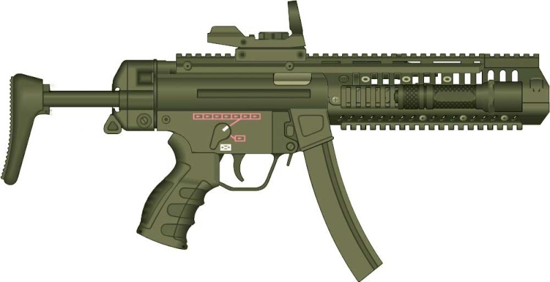 Custom de MP5 Mp510