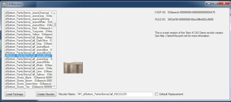 Programas para crear o recolorear en Los Sims 4 Creaci10