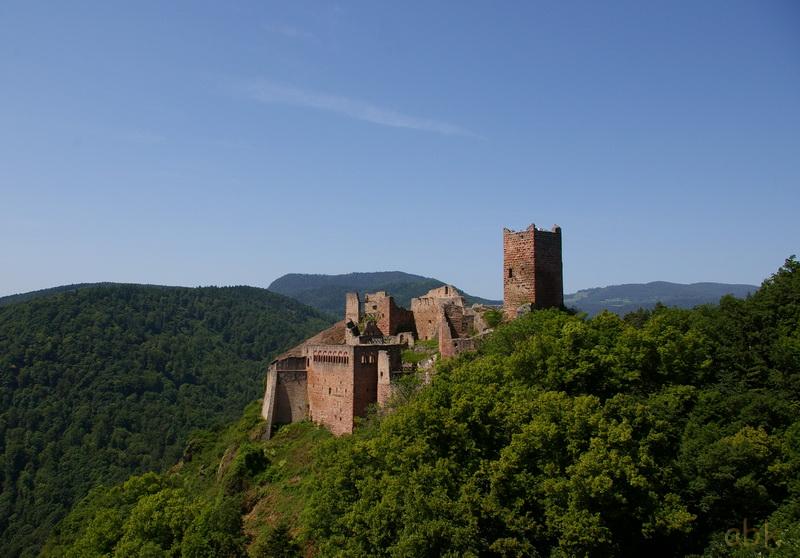 Les trois châteaux de Ribeauvillé  3_ch_r14
