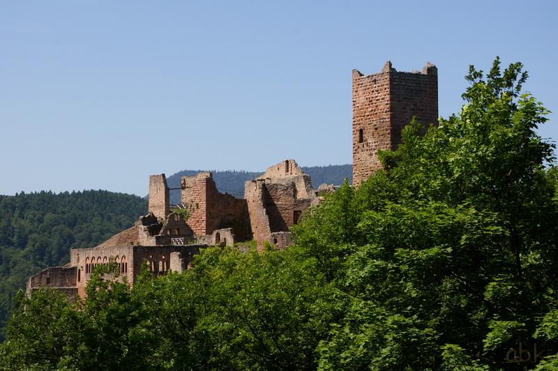 Les trois châteaux de Ribeauvillé  3_ch_r15