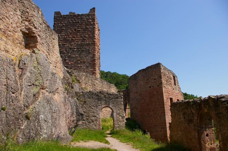 Les trois châteaux de Ribeauvillé  3_ch_r16
