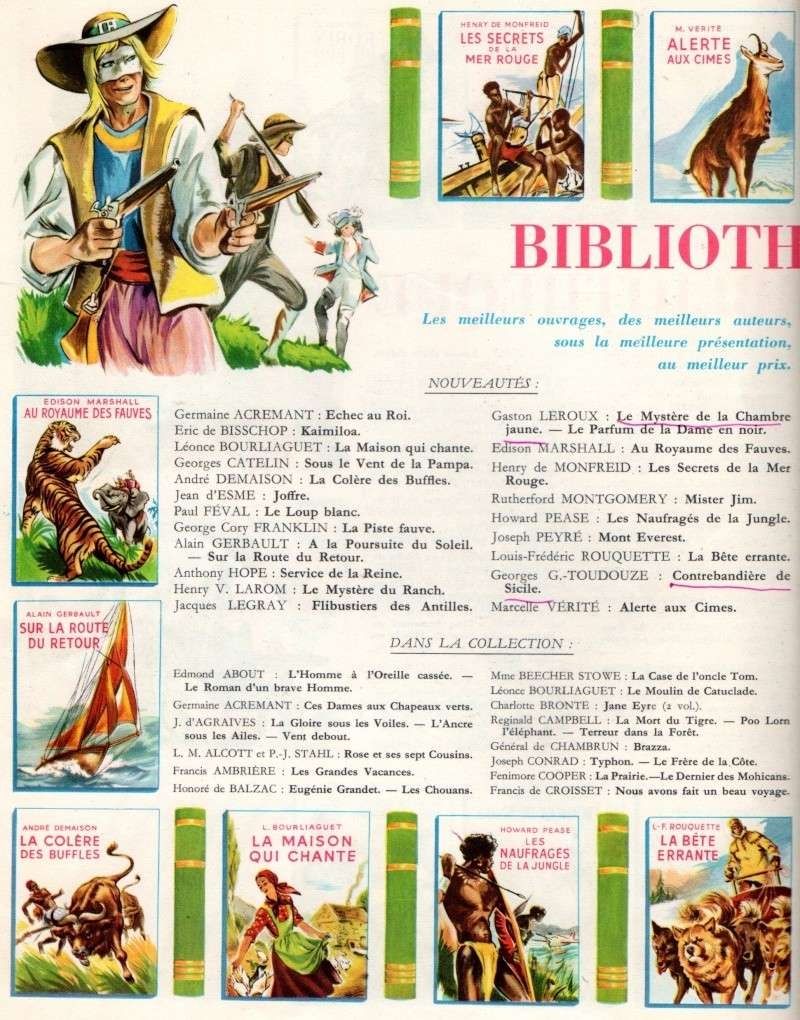 Mystère de la Bibliothèque Verte / Bibliothèque de la Jeunesse Spirou11