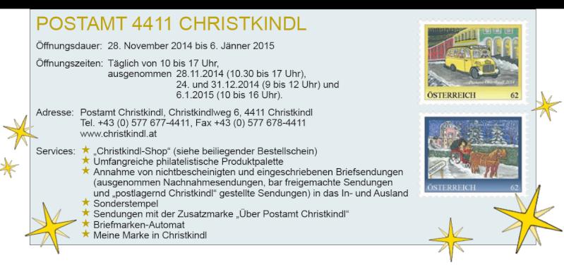 Postamt Christkindl 4411 1ch10