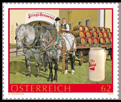 Briefmarken - Bier: Briefmarken, Stempel,Belege und mehr Bier10