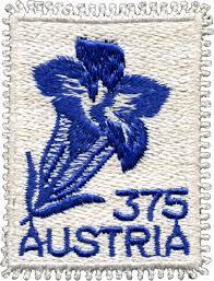 Textile Briefmarken Bild131