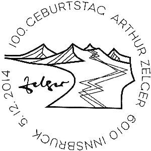 """""""100. Geburtstag Arthur Zelger"""" E100_g11"""