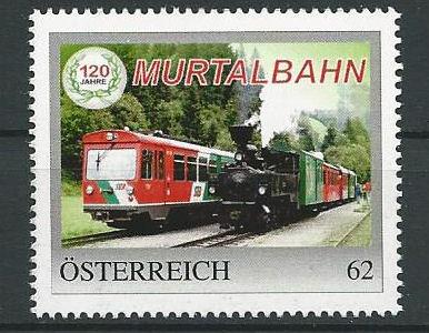 """Sonderpostbeförderung anläßlich """"120 Jahre Murtalbahn"""" am 10.10.2014.  Scan0011"""
