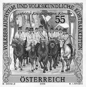 Österreich - Specimen, Schwarzdrucke, Buntdrucke Sch110