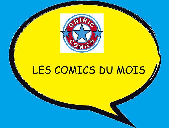 LES COMICS DU MOIS