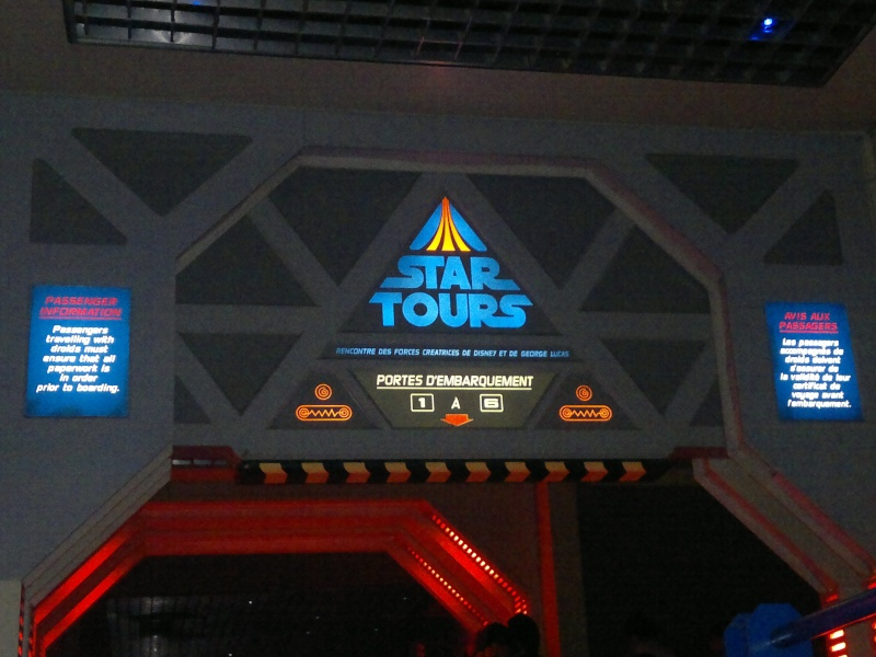Star Tour - DisneyLand Paris 28122010