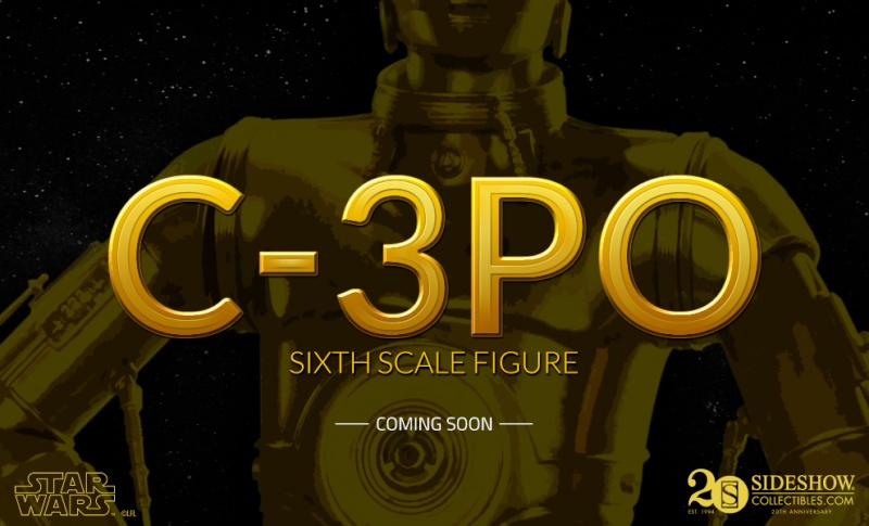 Sideshow - C-3PO Sixth Scale Figure Previe10