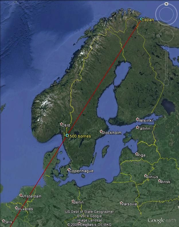 Diagonale européenne de Grense Jakobselv (NORVEGE) au Cap de Gate (ESPAGNE) - Page 3 150010