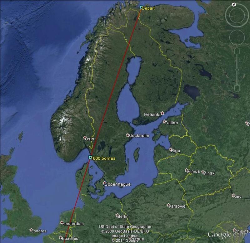Diagonale européenne de Grense Jakobselv (NORVEGE) au Cap de Gate (ESPAGNE) - Page 4 160010