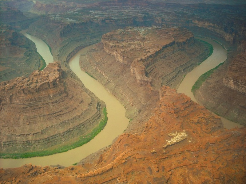 The Loop : les méandres parfaits du fleuve Colorado - Parc national de Canyonlands (Utah) :  16287010